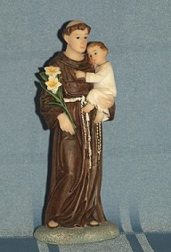 SAINT ANTHONY, 5.5 INCHES.