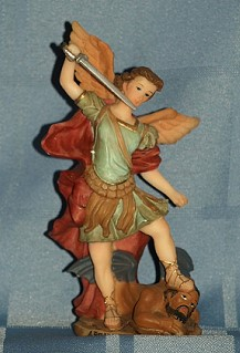 ARCHANGEL MICHAEL, 5.5 INCHES.