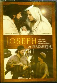JOSEPH OF NAZARETH: THE MAN CLOSEST TO CHRIST DVD.