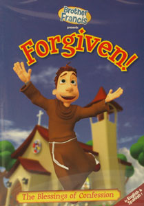 BROTHER FRANCIS: FORGIVEN! DVD.
