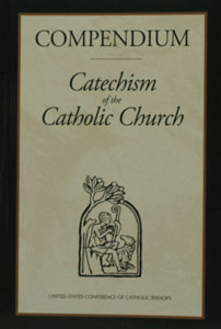 COMPENDIUM OF THE CATECHISM OF THE CATHOLIC CHURCH. Paper.