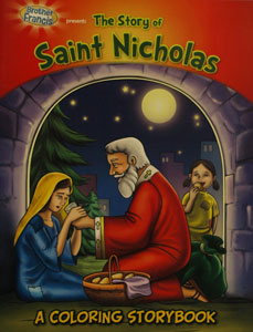 THE STORY OF SAINT NICHOLAS A Coloring Storybook