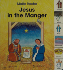 JESUS IN THE MANGER by MAITE ROCHE