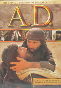 A.D. The Trials and Triumph of the Early Church. DVD.
