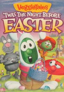 VEGGIETALES: 'TWAS THE NIGHT BEFORE EASTER. DVD.