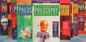 A HISTORY OF PHILOSOPHY by Frederick Copleston, S.J. Complete 9 vol. set.