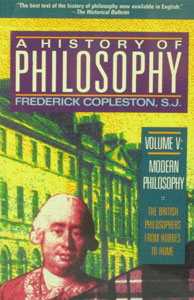 A HISTORY OF PHILOSOPHY by Frederick Copleston, S.J. Vol. 3.