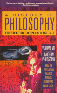 A HISTORY OF PHILOSOPHY by Frederick Copleston, S.J. Vol. 4.