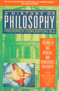 A HISTORY OF PHILOSOPHY by Frederick Copleston, S.J. Vol. 6.