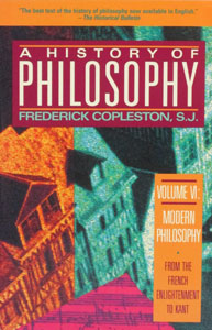 A HISTORY OF PHILOSOPHY by Frederick Copleston, S.J. Vol. 8.