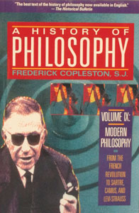 A HISTORY OF PHILOSOPHY by Frederick Copleston, S.J. Vol. 9.