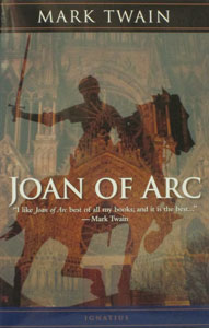 JOAN OF ARC by Mark Twain.