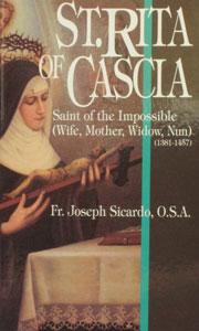 ST. RITA OF CASCIA by Fr. Joseph Sicardo, O.S.A.