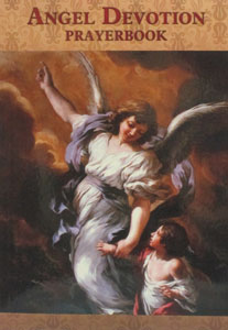 ANGEL DEVOTION PRAYERBOOK,  complied by Luis Valverde, paper.