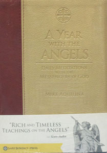 A YEAR WITH THE ANGELS Daily Meditations With The Messengers of God by MIKE AQUILINA