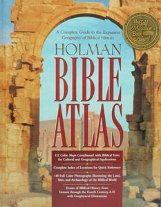 HOLMAN BIBLE ATLAS A Complete Guide to the Expansive Geography of Biblical History by Thomas V. Brisco. Hardcover.