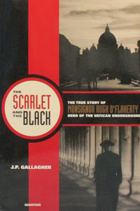 THE SCARLET AND THE BLACK by J.P. GALLAGHER