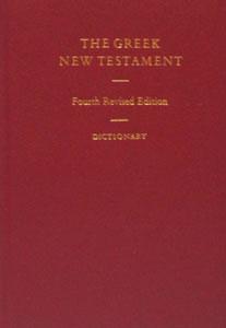 GREEK NEW TESTAMENT, B. Aland, K. Aland, J. Karavidopoulos, C.M.Martini, B.M.Metzger, editors.