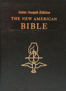 NEW AMERICAN BIBLE, St. Joseph Edition, Large Print 611/13-B.