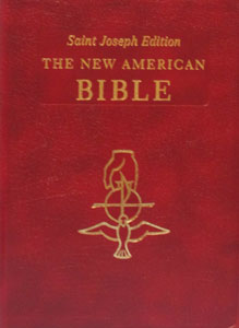 NEW AMERICAN BIBLE, St. Joseph Edition, Large Print 611/13-BG.