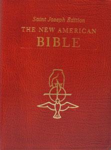 NEW AMERICAN BIBLE, St. Joseph Edition, Large Print 611/13-BN.