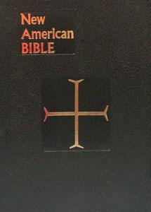 NEW AMERICAN BIBLE, St. Joseph Edition, large Print 611/10-B.