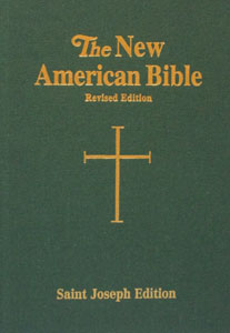 NEW AMERICAN BIBLE, St. Joseph Edition, Large Print 611/67-GN.