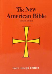 NEW AMERICAN BIBLE, St. Joseph Edition, Large Print 611/04.
