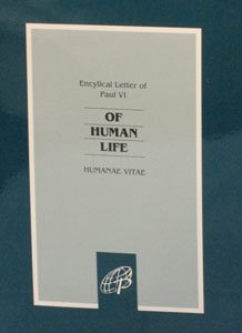 ON HUMAN LIFE (Humanae Vitae)