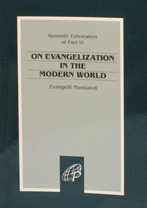 ON EVANGELIZATION IN THE MODERN WORLD (Evangelii Nuntiandi)
