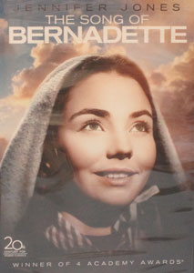 THE SONG OF BERNADETTE. DVD.