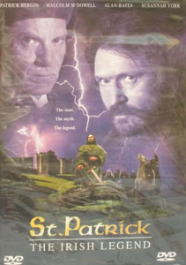 ST. PATRICK, THE IRISH LEGEND. DVD.