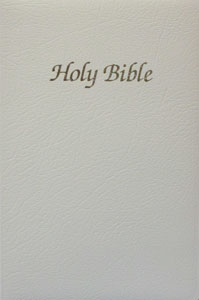 FIRST COMMUNION BIBLE, White  NAB1C