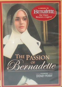 THE PASSION OF BERNADETTE.  DVD.