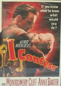 I CONFESS, DVD