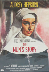 THE NUN'S STORY. DVD.