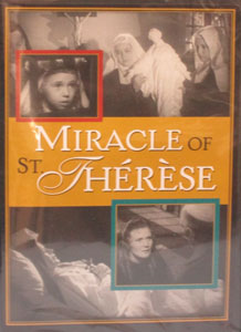 MIRACLE OF ST. THERESE. DVD.