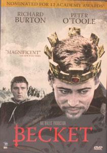 BECKET.  DVD.