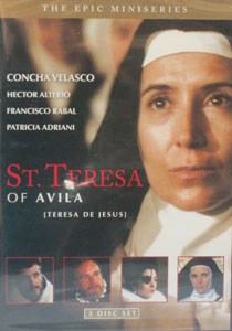 ST. TERESA OF AVILA. 3 DISC SET. DVD.