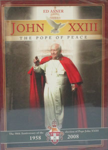 JOHN XXIII, THE POPE OF PEACE. DVD