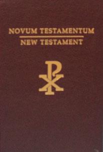 NOVUM TESTAMENTUM~NEW TESTAMENT