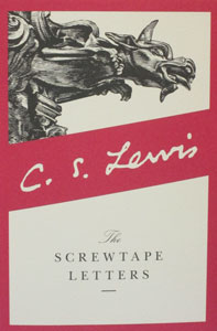 THE SCREWTAPE LETTERS by C. S. LEWIS, paper