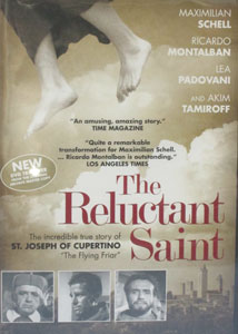 THE RELUCTANT SAINT. DVD.