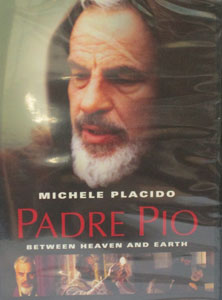 PADRE PIO, BETWEEN HEAVEN AND EARTH. DVD.