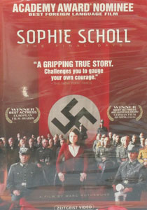 SOPHIE SCHOLL, The Final Days. DVD