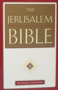 THE JERUSALEM BIBLE, Reader's Edition