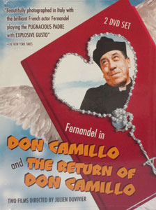 DON CAMILLO and THE RETURN OF DON CAMILLO. Two DVD set.
