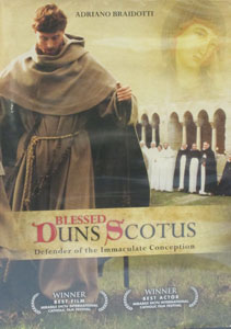 BLESSED DUNS SCOTUS, DEFENDER OF THE IMMACULATE CONCEPTION. DVD.