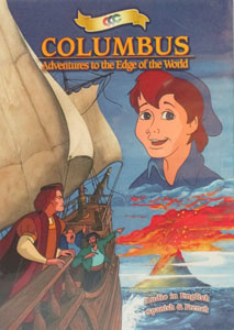 COLUMBUS: ADVENTURES TO THE EDGE OF THE WORLD. DVD.