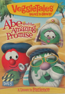 VEGGIETALES: ABE AND THE AMAZING PROMISE. DVD.